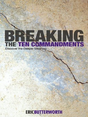 cover image of Breaking the Ten Commandments